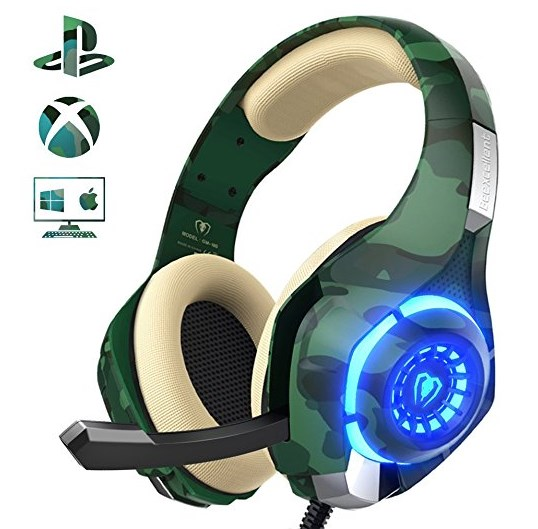 Gaming Headset for PS4 Xbox one PC, Beexcellent Stereo Sound Over